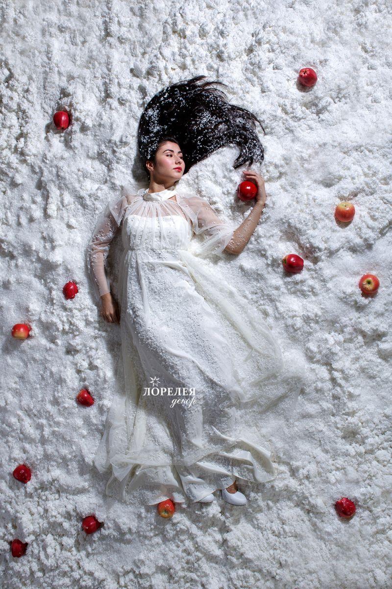 Идеи фотосессии с искусственным снегом