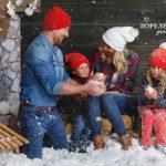 Снежная съемка в студии
