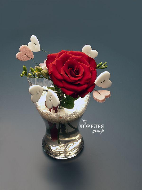 Сердечки для флористики