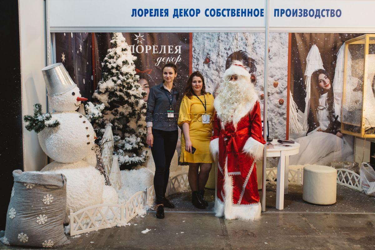 """Компания Лорелея Декор на кино-выставке в """"АМЕДИА""""."""
