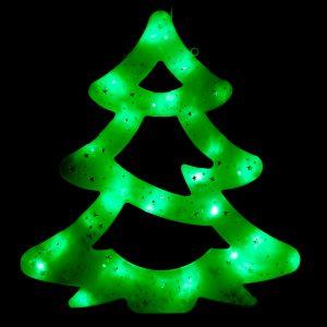 Елочка зеленая LED